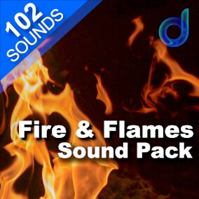A scorching package of 102 professional-quality sound effects for flames, fire ambience, fire magic and more.
