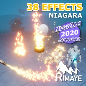 This pack contains a collection of fire effects with many parameters.