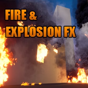 High Quality Realistic Fireball and Explosion FX