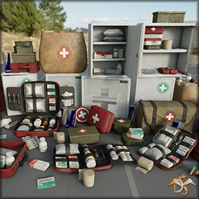This content includes the basic and popular game elements of first aid. Cross-platform.