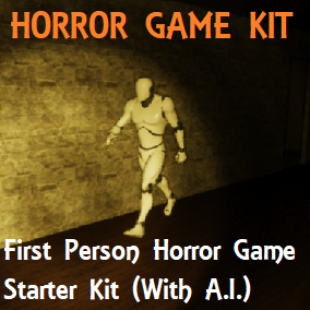 First Person Horror Game Starter Kit (With A.I.)