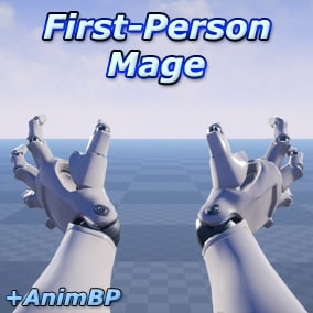 A set of 48 first person magic animations for mages and wizards.