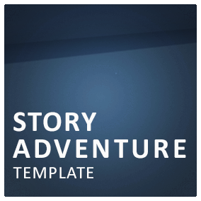 All you need to create a first person story adventure game.
