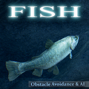 Add Fish to your game environments, Drag and drop easy. Built in obstacle avoidance.