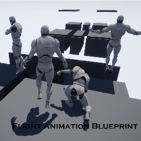 It's finally here after many requests, The Flight Animation Blueprint has arrived!