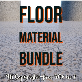 4K Floor Material Collection include 97 different 4K floor textures which is marble, tiling, and decorative tiling textures