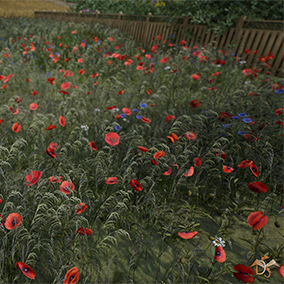 Flowers and Plants Nature Pack includes more than 140 plant species. 760 HQ Static Meshes, of which: 648 flowers and plants; 28 vegetable spline elements; 84 environment models.