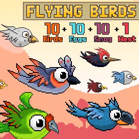Flying Birds Pack