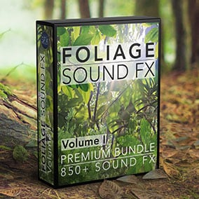 858 realistic foliage movement sounds