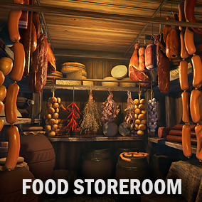 Here you can find a lot of food items