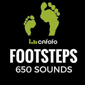 Cafofo's Footstep Sounds Pack comes with 650 high-quality sound effects, divided into more than 13 surfaces, along with monsters, robotic and classic retro sounds! Most of them come with walking and running variations.