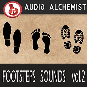 100 high-quality footsteps sounds specially crafted to help you put sound to your games