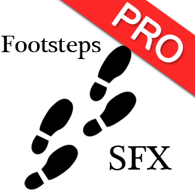 The footsteps ultimate audio pack contains 100+ high quality, professional footsteps sound effects. Perfect for character walking and running sounds!
