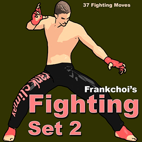Basic Motion Set for 3D Fighting Action Game