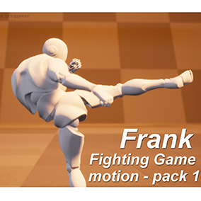 Frank's Fighting Game Motion - Part1