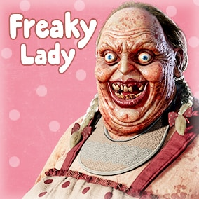 Freaky Lady is inspired by freaky horror films. It was made for productions which want create very creepy horror games with very good quality model.