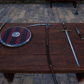 Free Fantasy Weapons Starter Kit