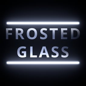 UE4 frosted glass material pack optimized for games and architectural visualization