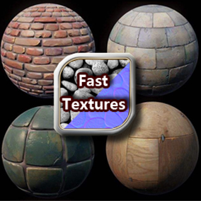 This plugin is used to generate fast textures