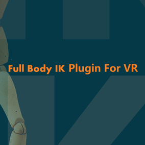 AnimIK Plugin implements human full body IK for VR games in Unreal 4, with the functionality to work together with keyframed animations by blending data