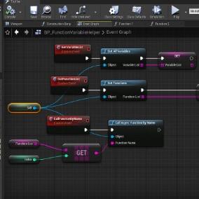 UE4 Function&Variable Helper Plugin