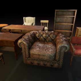 Game ready furniture pack