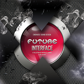 'Future Interface' by Cinematic Sound Design delivers a huge collection of futuristic interface sound effects.