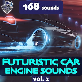 The second version of the sound package of futuristic car engines, including 168 high-quality sound effects, 8 kinds of cars. Perfect for space and sci-fi vehicles.