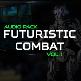 High Quality Futuristic Combat sounds for your game!