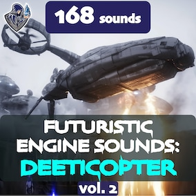 The second version of the sound package of deeticopter engines, designed in a futuristic style, including 168 high-quality sound effects, 8 kinds of deeticopters. Perfect for spacecrafts, spaceships, futuristic helicopters, drones and sci-fi vehicles.