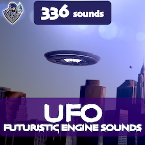 This package contains UFO engine sounds, including 336 high-quality sound effects, 16 kinds of UFOs. Perfect for spacecrafts, spaceships, flying cars and space and futuristic vehicles and objects.