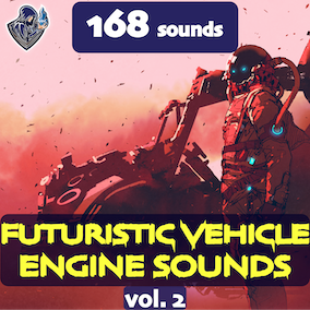 The second version of the sound package of futuristic vehicle engines, including 168 high-quality sound effects, 8 kinds of vehicles. Perfect for space and sci-fi vehicles.
