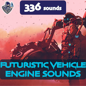 This package of futuristic vehicle engine sounds, designed in a futuristic style, including 252 high-quality sound effects, 12 kinds of vehicle. Perfect for space and sci-fi vehicles.