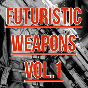 The first volume in a series of handcrafted, futuristic weapons sound effects.