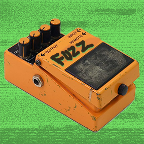 Stomp-Box Fuzz Distortion for Sound Effects, Music and Voice Over Audio