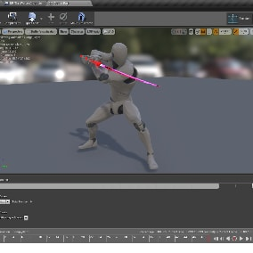 Animations pack about a fast action ninja