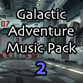 Continue your Sci-Fi missions with Galactic Adventure Music Pack 2. Over 10 minutes of seamless looping music and stems perfect for any Sci-Fi based video game.