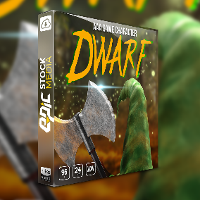 """Grab your boom boom stick – An infamous subterranean fantasy character emerges.. The Game Character """"Dwarf"""" shows off rich dwarven voice over sayings, dialogue, vocalizations and more."""
