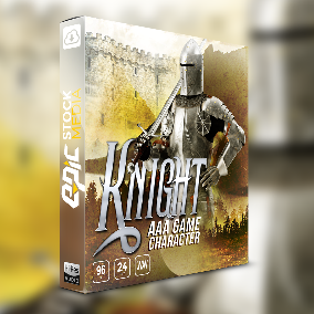 "Command in-game character audio excellence with ESM's newest voice over sound library ""Game Character Knight""."