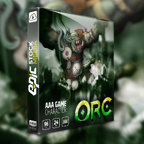 "Enlist a barbaric orc warrior onto the battlefield in your next game! Introducing ESM's fresh new voice sound pack - ""Game Character Orc"". This collection features a male game creature on a mission for blood!"