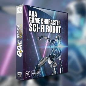 Activate a robotic artificial life form in your next audio production with AAA Game Character Sci-fi Robot, a unique collection of futuristic cyborg styled voice over sound files created for sci-fi games & trailers.