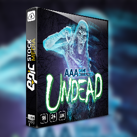 Game Character Undead – a riveting collection of interactive, in-game dialogue featuring a grotesque set of fantasy undead creature audio assets.