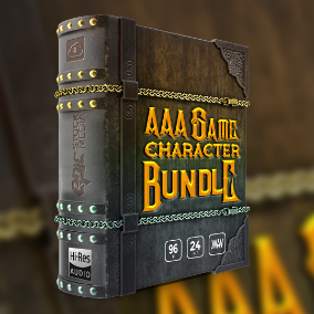 Game Character Voice Bundle provides a high quality selection of 8 themed fantasy game character voice over sample packs at an affordable price.