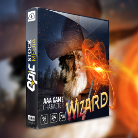 "Fight the forces of evil and call upon arcane magic with a heroic protector of your fantasy world! Introducing ESM's new voice sound library ""Game Character Wizard""."