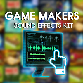Game Makers Sound Effects Kit includes 7,087 audio assets, SFX and loops. Ready for assignment on your next video game.