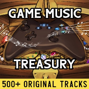 Game Music Treasury is the world's largest (500+ tracks) music pack crafted for Royalty-Free use in your Game, featuring recordings of live soloists, bands, vocals, orchestras, & selections from the Los Angeles Philharmonic & Chicago Symphony Orchestra...
