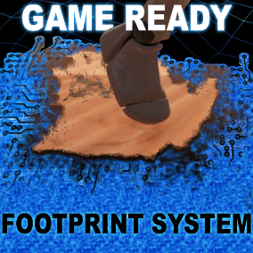 A Non-Destructive easy to implement Blueprint based footprint system with comprehensive control!