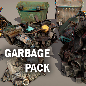 Few kinds of garbage for your project