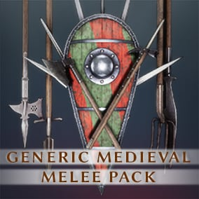 30+ Assorted Medieval Melee Weapons