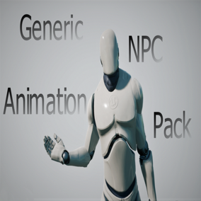 Pack of Generic Animations for NPC Characters